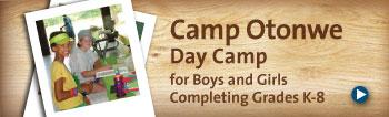 One Week of Camp Otonwe Day Camp!