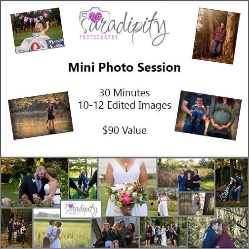 Professional Photo Mini-Session by Saradipity Photography