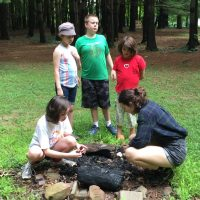 kids at Camp Otonwe in Galena Ohio Day Camp